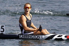 Kiwi kayak champ Lisa Carrington (File pic)